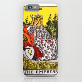 03 - The Empress iPhone Case