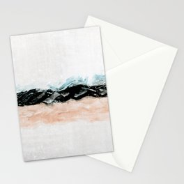 abstract minimalist landscape 10 Stationery Cards