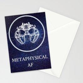 Metaphysical AF Stationery Cards