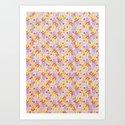 Simple Flower Pattern by lizardlingo