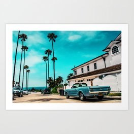 California dreaming x Art Print