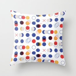 Fast Moving Parts Throw Pillow