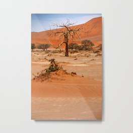 NAMIBIA ... Namib Desert Tree VI Metal Print