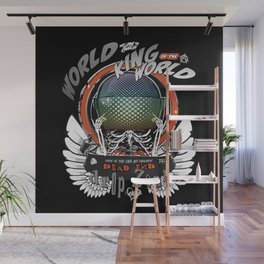 Winged King of the World Wall Mural