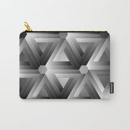 Monochrome penrose triangles Carry-All Pouch