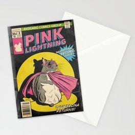 Little Thumbelina Girl: Pink Lightning #2 Stationery Cards