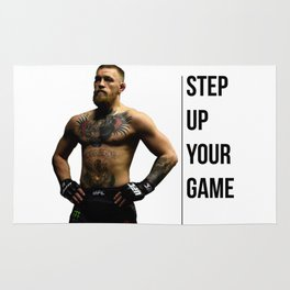 Connor McGregor - Step up your game Rug