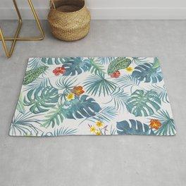 Palm Leaves Pattern 1 Rug