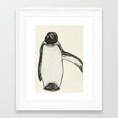 King Penguin Framed Art Print