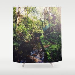 Down by the Stream Shower Curtain