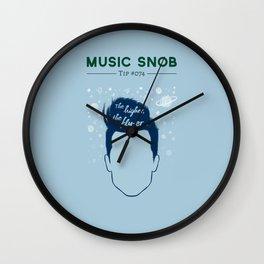 Even HIGHER, Even FLY-er — Music Snob Tip #074.5 Wall Clock