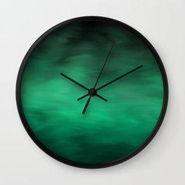 Green Atmosphere Wall Clock