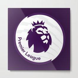 english premier league the best logo Metal Print
