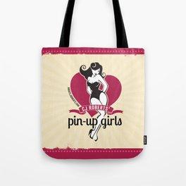 CJ Roberts' Pin-Up Girls Tote Bag