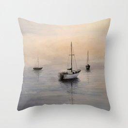 Sea View 271 Throw Pillow