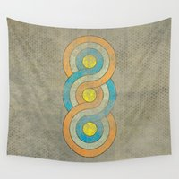 infinite Wall Tapestries featuring Infinite by Metron
