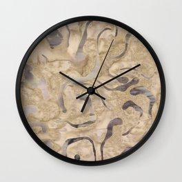 Coconut Batik 06 Wall Clock