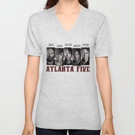 Atlanta Five - The Walking Dead Unisex V-Neck