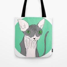 Nicolas the Sphynx Tote Bag