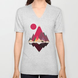 Fox Lands Unisex V-Neck