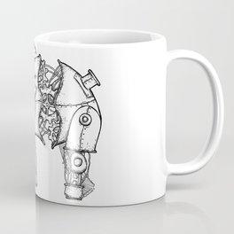 Mechephant-Steampunk Mechanical Elephant Coffee Mug
