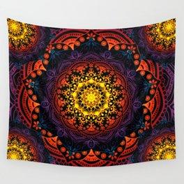 Mandala Mantra Meditation Spiritual Yoga Zen Hippie Bohemian Wall Tapestry