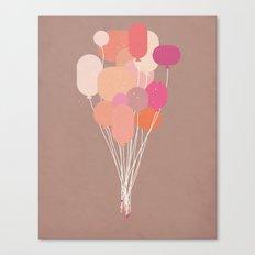 Balloons//Three Canvas Print