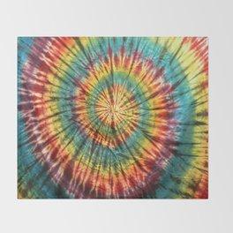 Tie Dye 19 Throw Blanket