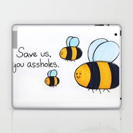 Bees!!! Laptop & iPad Skin