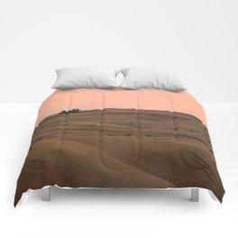 Arabian Desert Sunset Comforters