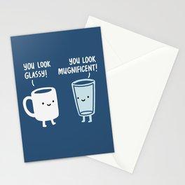 Mug and Glass Stationery Cards