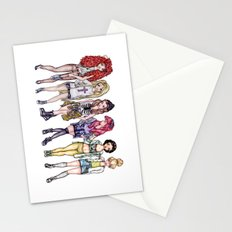 Hipster Princesses Stationery Cards
