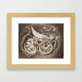 Suicidal Grasshopper Framed Art Print