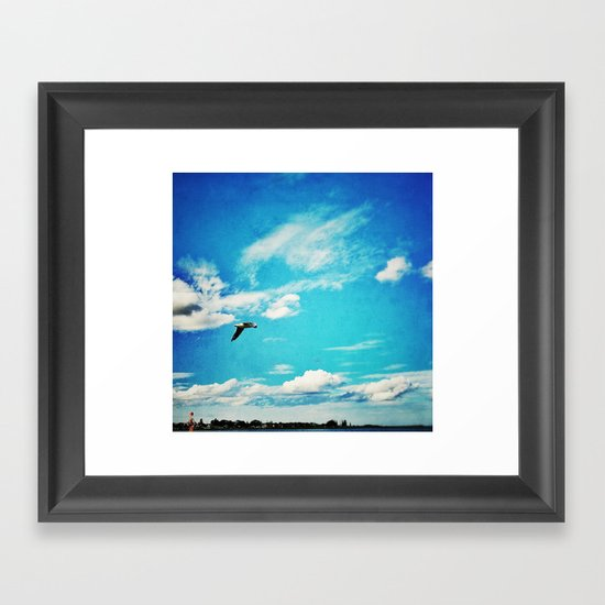 - Sky -  Framed Art Print