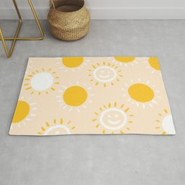happy sunshine Rug