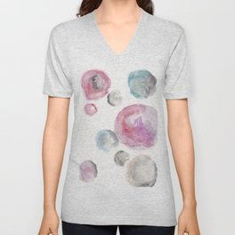 Sydney-Smith circles Unisex V-Neck
