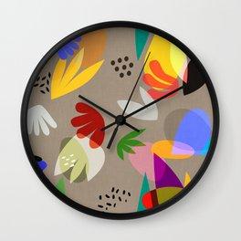 MATISSE ABSTRACT CUTOUTS Wall Clock