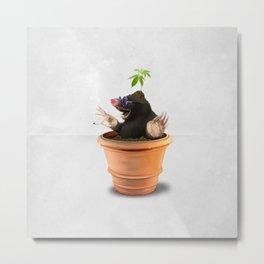 Pot (Wordless) Metal Print