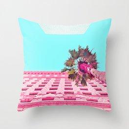 LA Palm Tree Look Up Throw Pillow