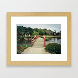 Japanese Garden II Framed Art Print