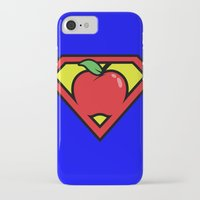 teacher iPhone & iPod Cases featuring Super Teacher by David Rodriguez Jr