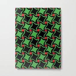 Twisted squares Metal Print