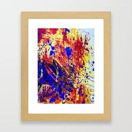 Infinite - Closeup Framed Art Print