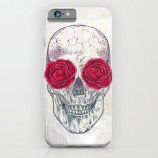 Skull & Roses Slim Case iPhone 6s