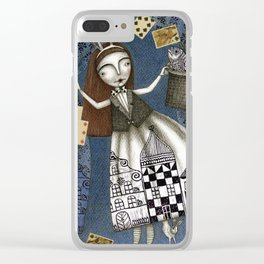 The Magic Act Clear iPhone Case