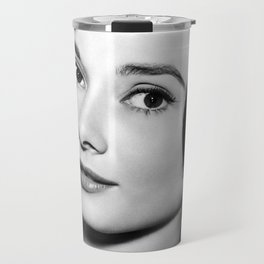 Audrey Close Up Travel Mug