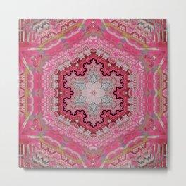 Pink Rug Metal Print