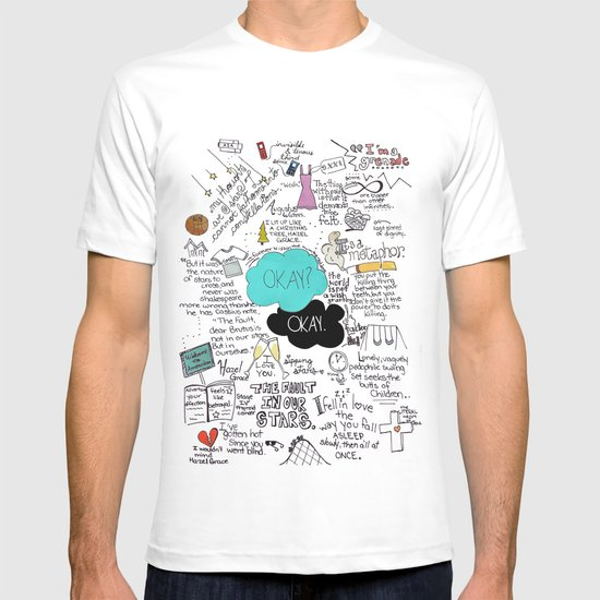 The Fault in Our Stars- John Green T-shirt