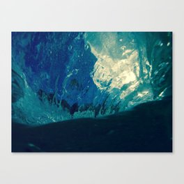 Sky fallin in Love Canvas Print