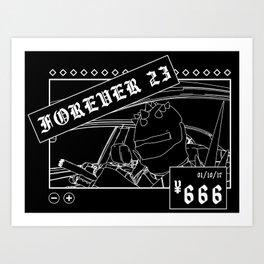 ¥666: Chicharrón Art Print